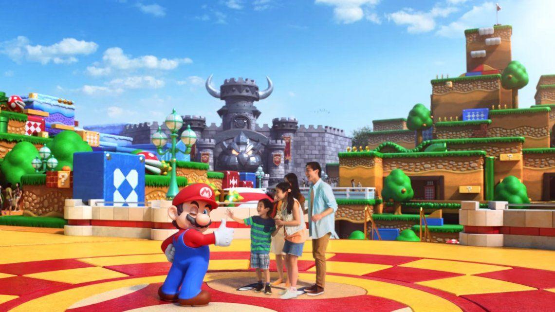 Así es el nuevo e impresionante parque Super Nintendo World