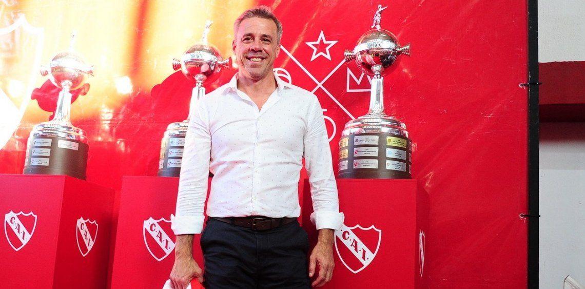 Números de Lucas Pusineri en Independiente: 11 triunfos