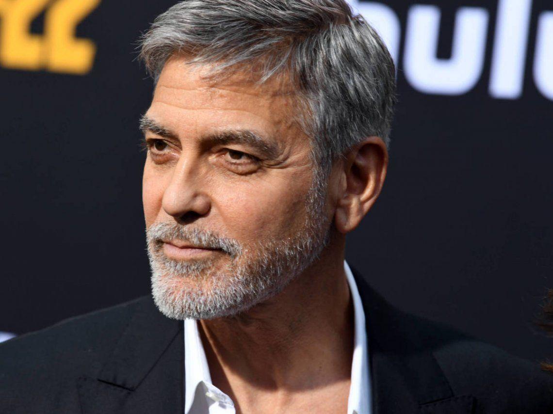 George Clooney criticó duramente a Trump por los incidentes en el Capitolio
