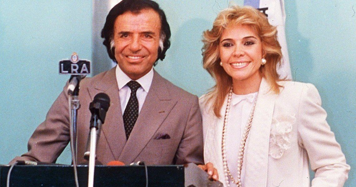Carlos Menem salió del coma inducido