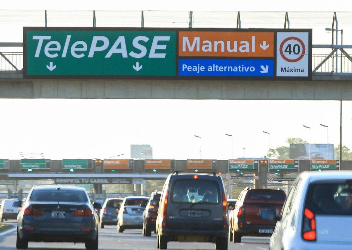 Aumentaron 55% los peajes de las autopistas de la Ciudad