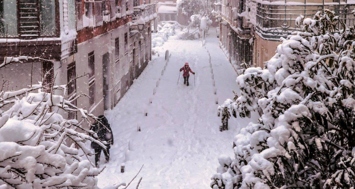 España sufre la mayor nevada de los últimos 60 años