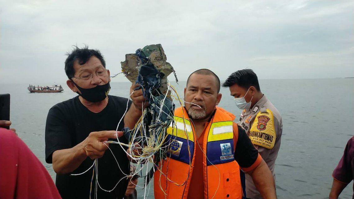Se accidentó un avión en Indonesia