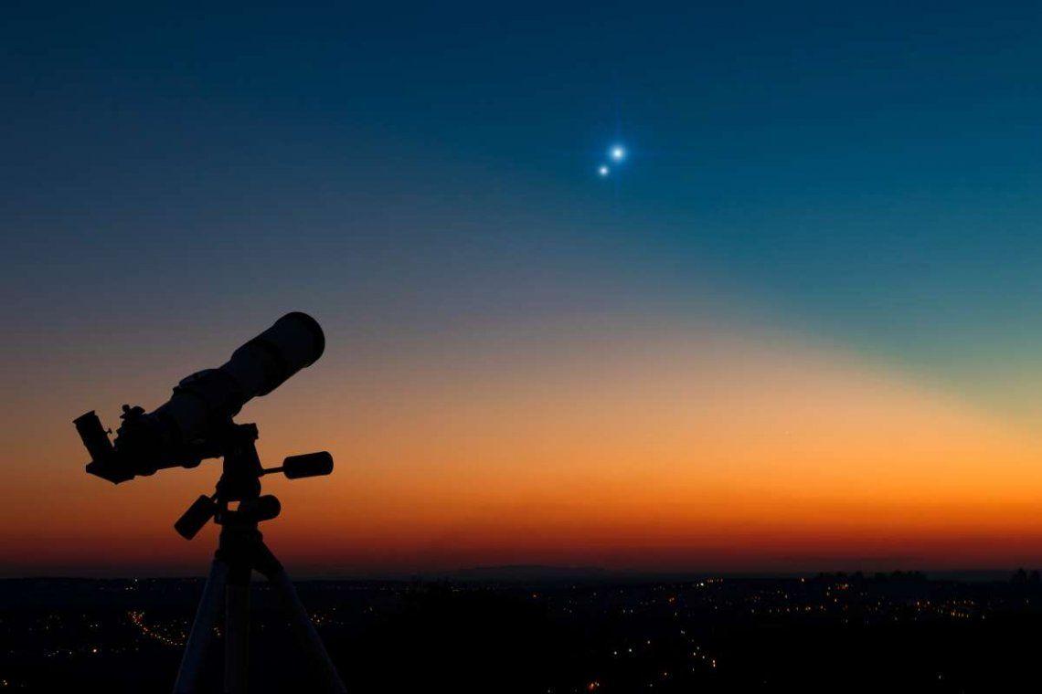 Esta podría ser la última vista nocturna de Júpiter y Saturno