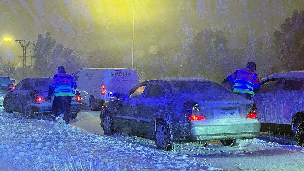 El temporal Filomena provocó las nevadas más voluminosas de los últimos 50 años.