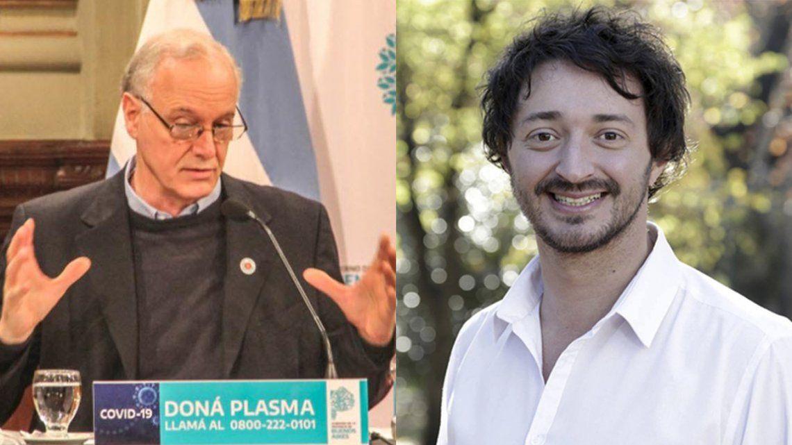 El ministro de Salud bonaerense Daniel Gollán atendió sin reparos al intendente de Pinamar