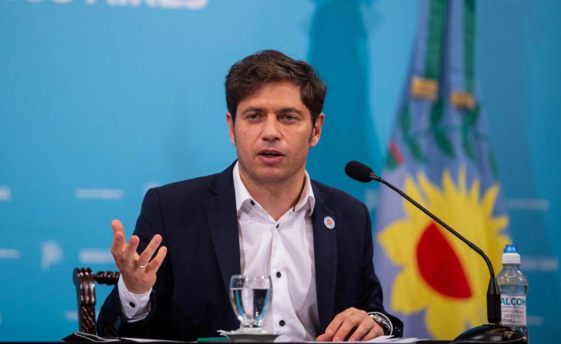 El gobernador Axel Kicillof destacó la campaña de vacunación contra el coronavirus