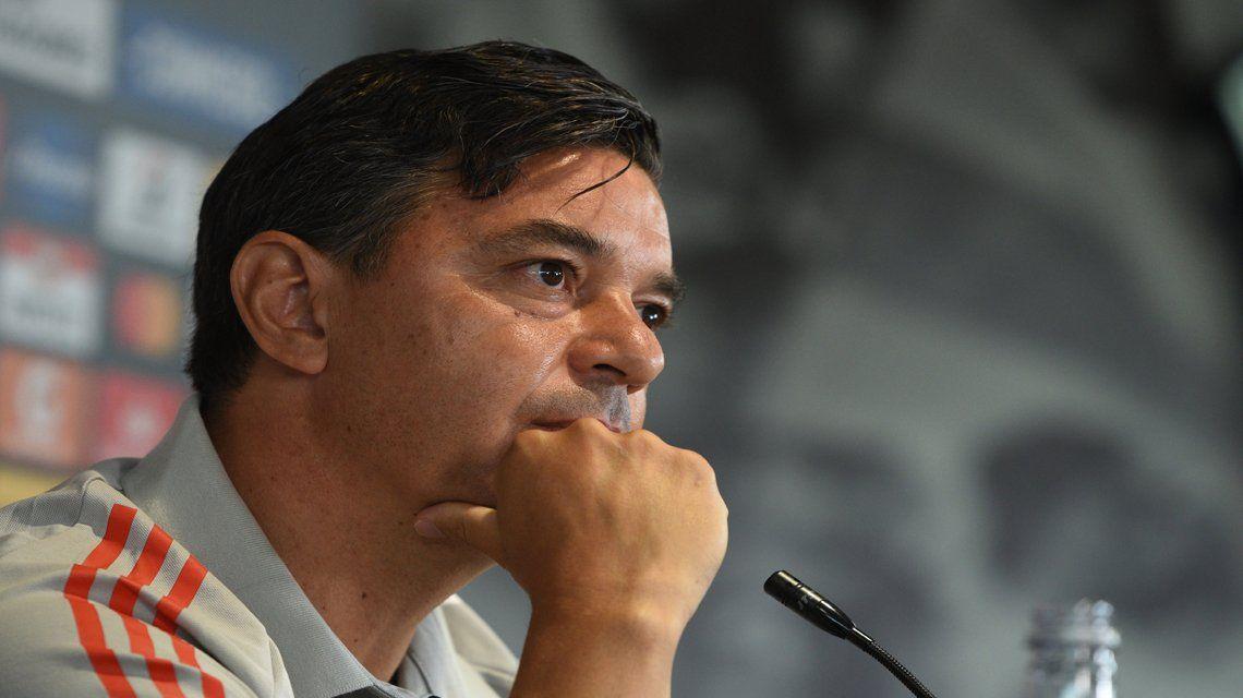 Marcelo Gallardo habló sobre su continuidad en River.