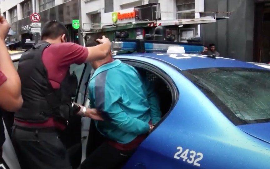Ciudad: Detuvieron a delincuentes en pleno microcentro.