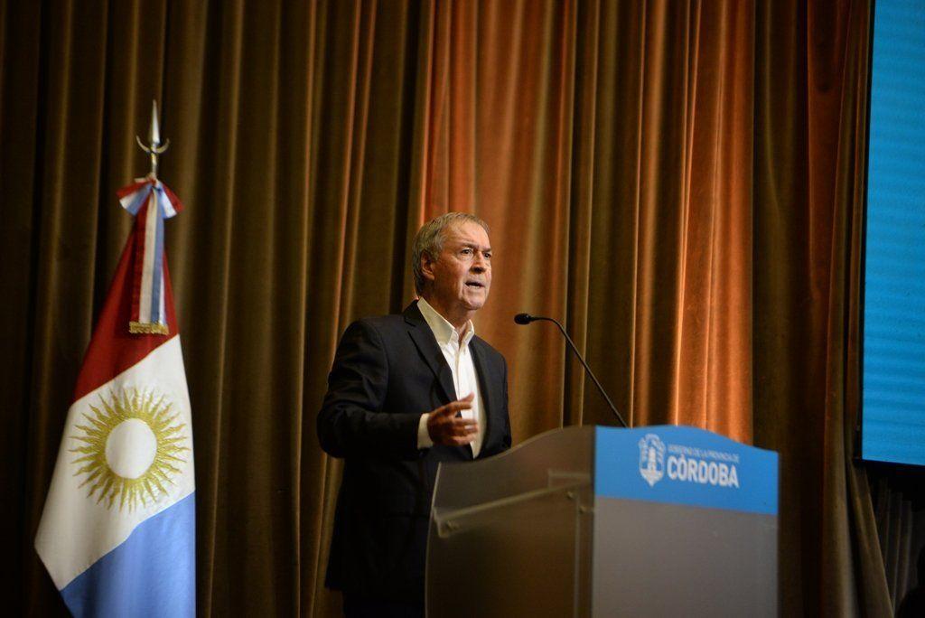 Juan Schiaretti anunció que renegoció la deuda externa de Córdoba