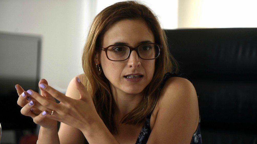 Provincia de Buenos Aires: ministra de Trabajo Mara Ruiz Malec.