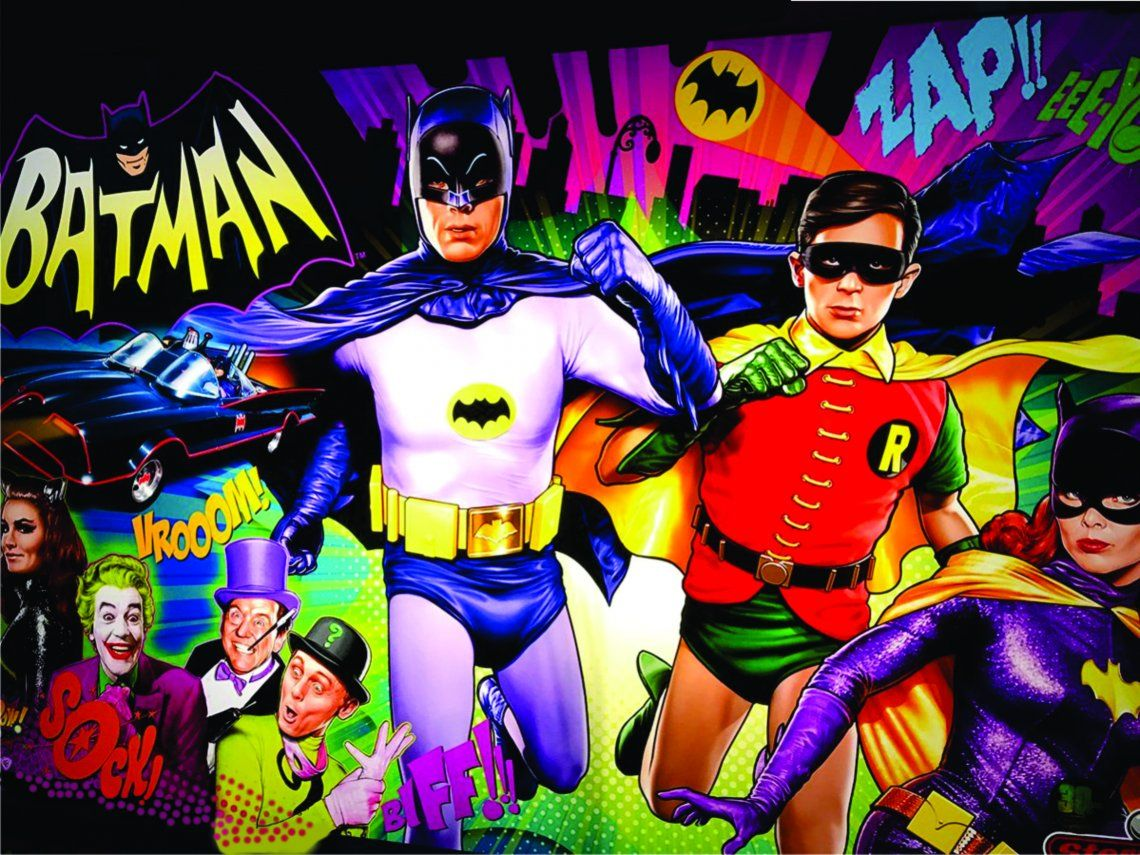 Batman, la famosa serie de televisión, cumple 55 años