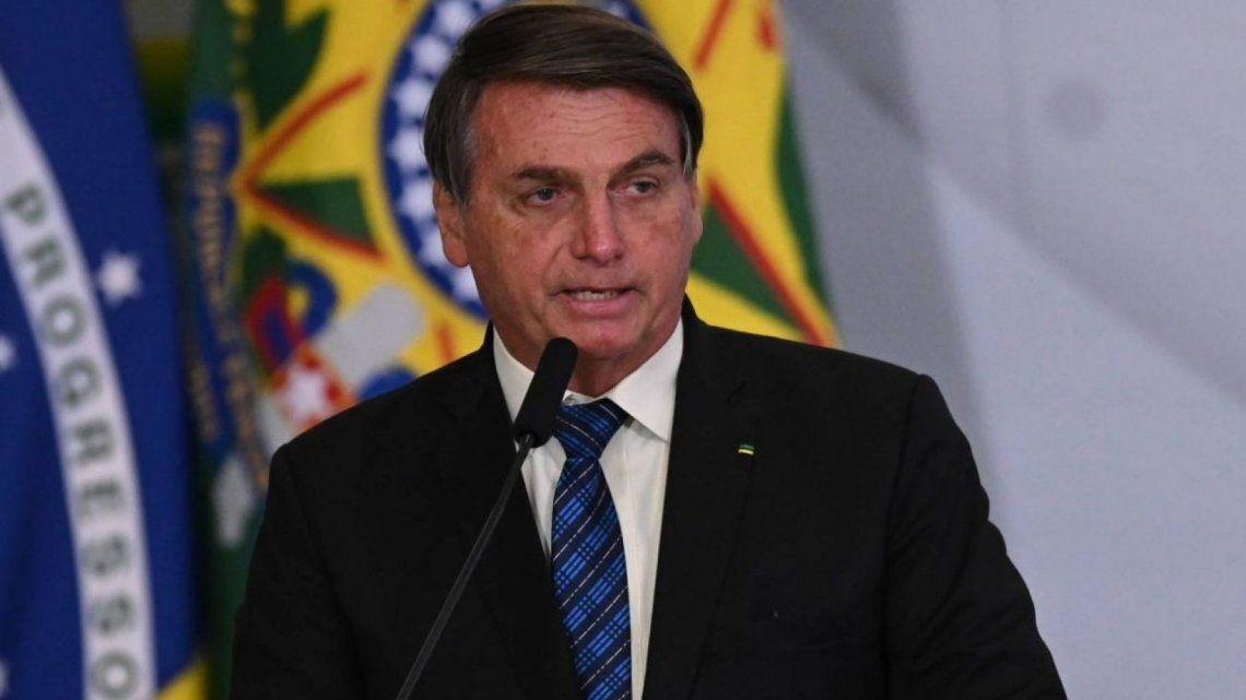 Jair Bolsonaro repartió críticas a la empresa estadounidense
