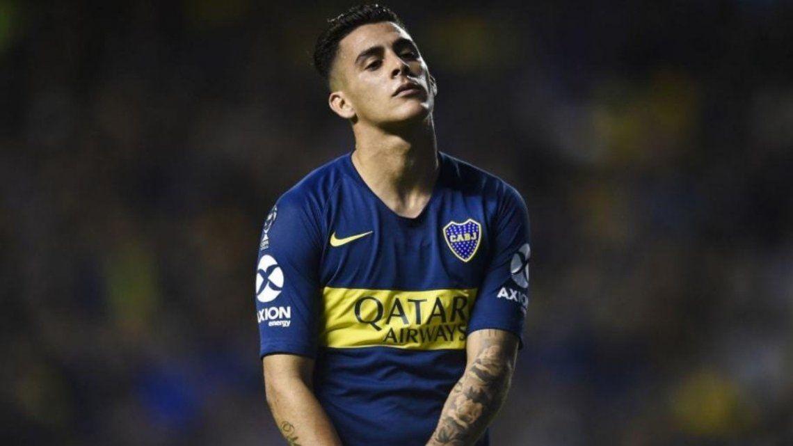 Cristian Pavón volvió a entrenarse con Boca.