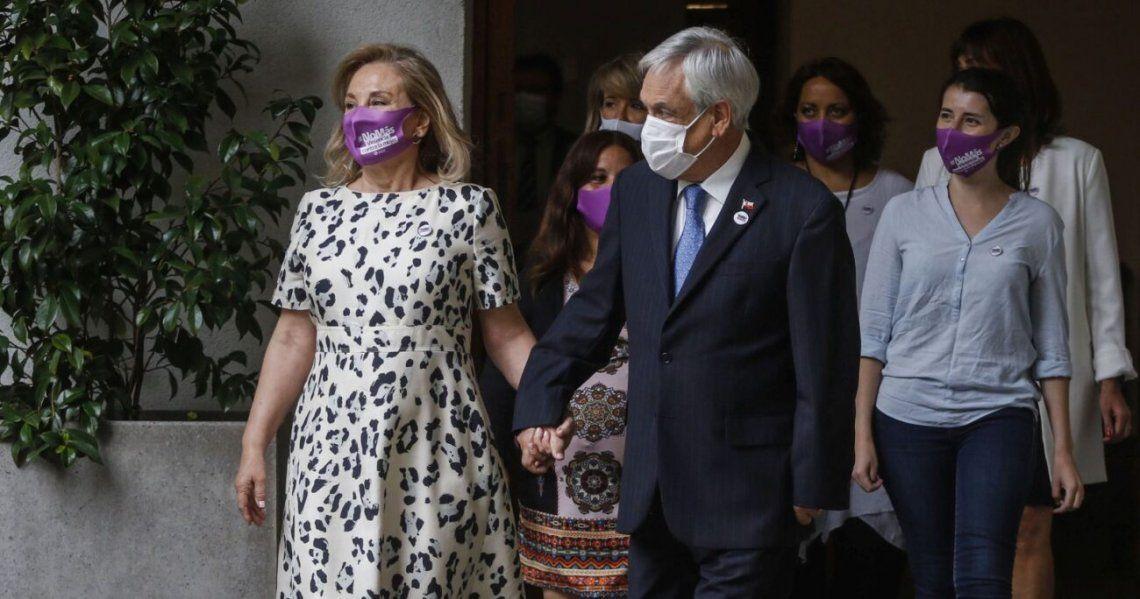 Chile: Piñera y su esposa
