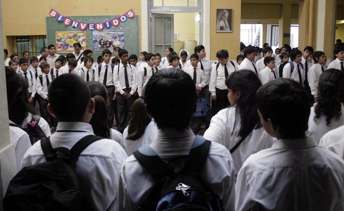 Ciudad: las escuelas siguen abiertas.