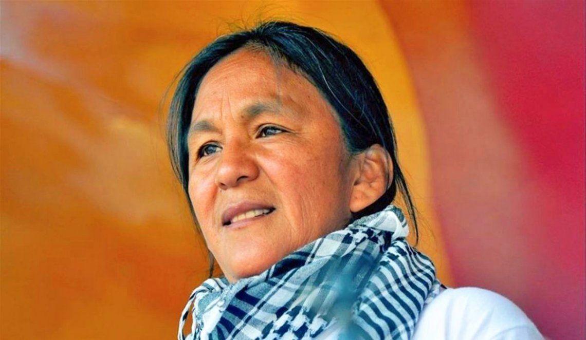 La dirigente social se encuentra detenida en su casa de Jujuy