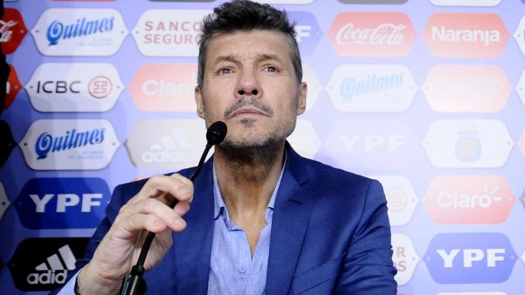 El presidente de la Liga Profesional apuntó contra una de las empresas que tiene los derechos de TV