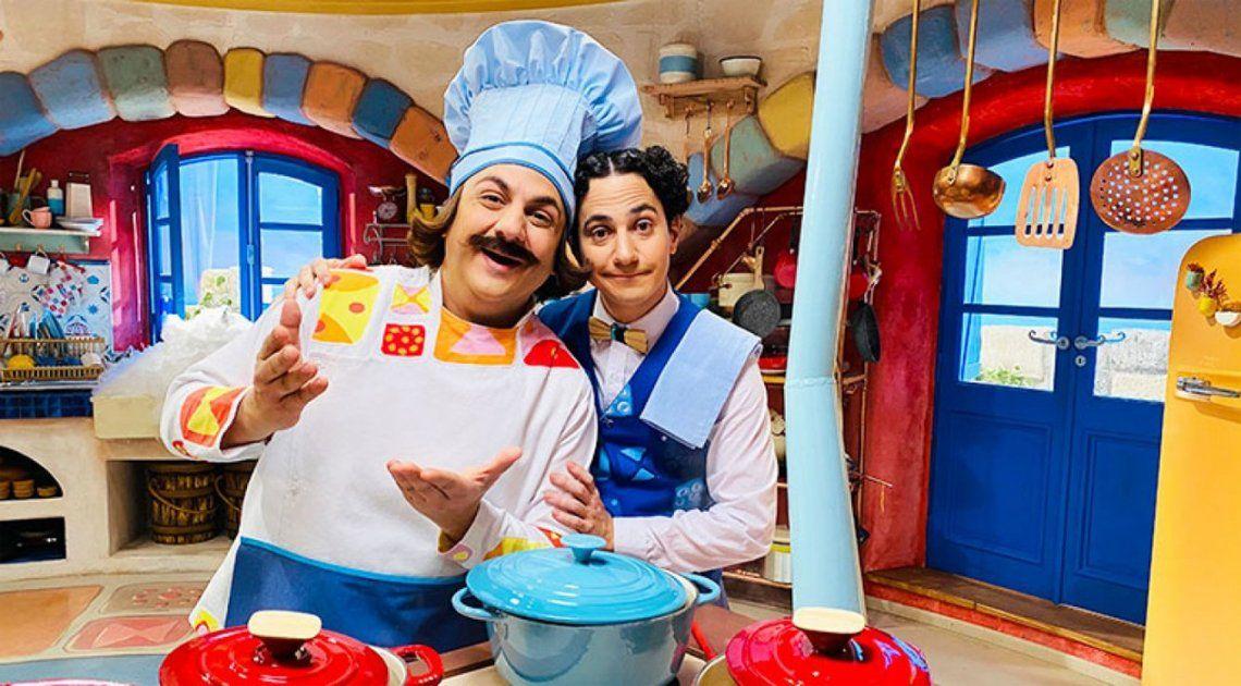 Diego Topa estrena El Ristorantino de Arnoldo en Disney+.