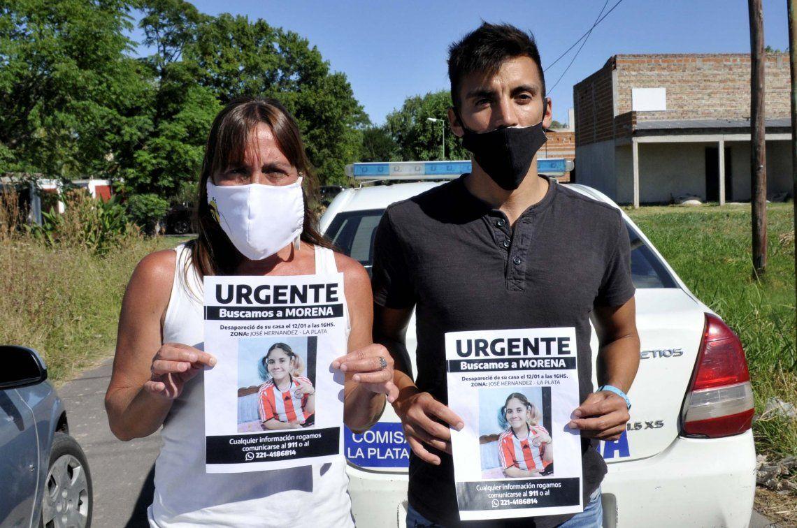 Morena había desaparecido en La Plata.