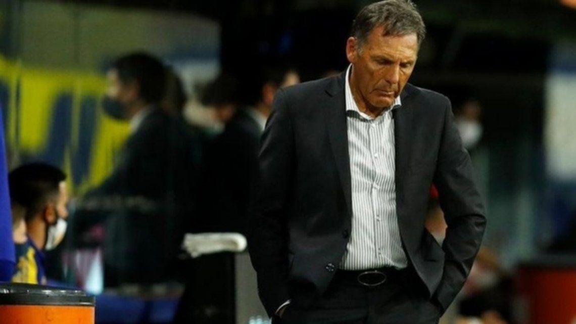 Miguel Ángel Russo fue autocrítico tras la derrota de Boca ante Talleres.