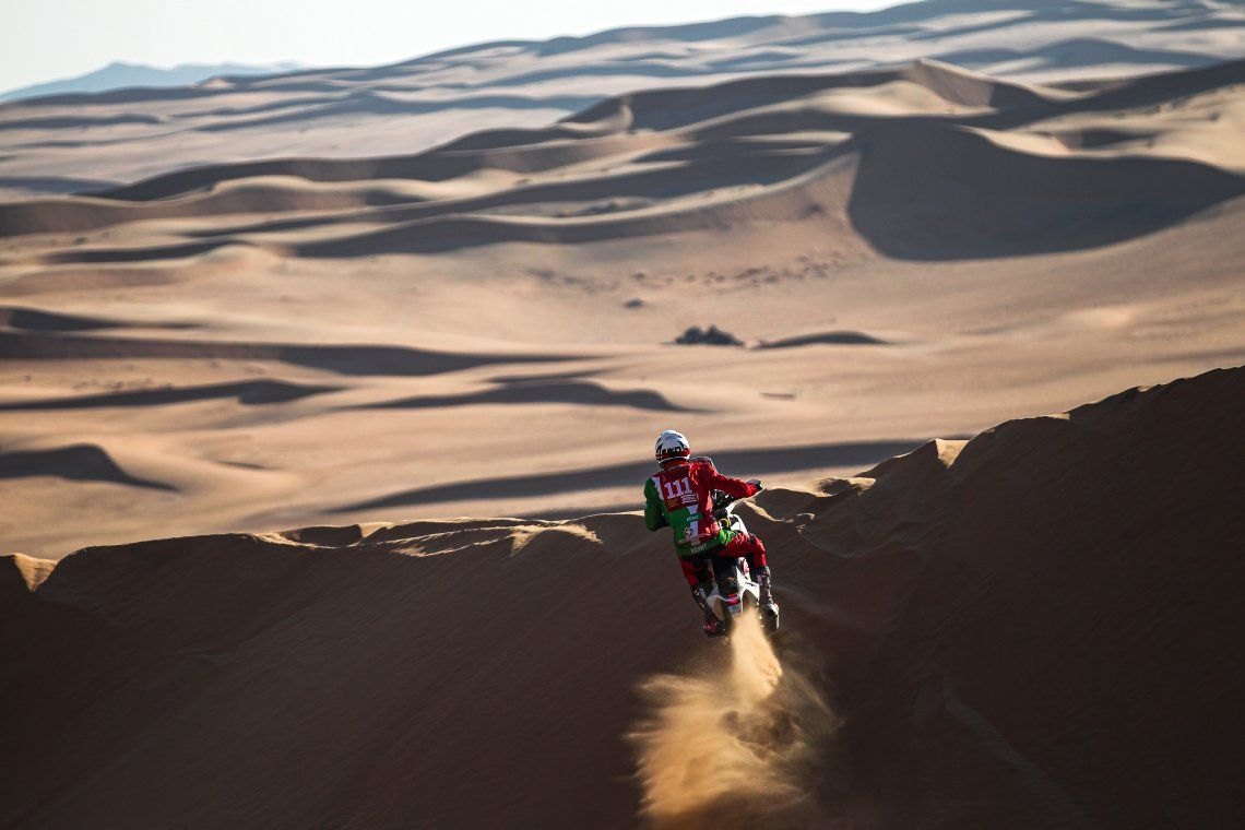 Rally Dakar 2021: murió el motociclista francés Pierre Cherpin