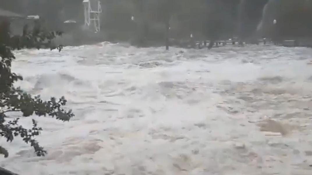 Córdoba: El fuerte temporal afectó especialmente a La Falda