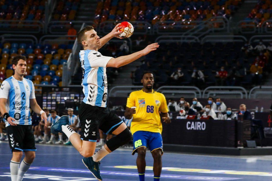 Argentina venció a Congo en su debut en el Mundial de Egipto