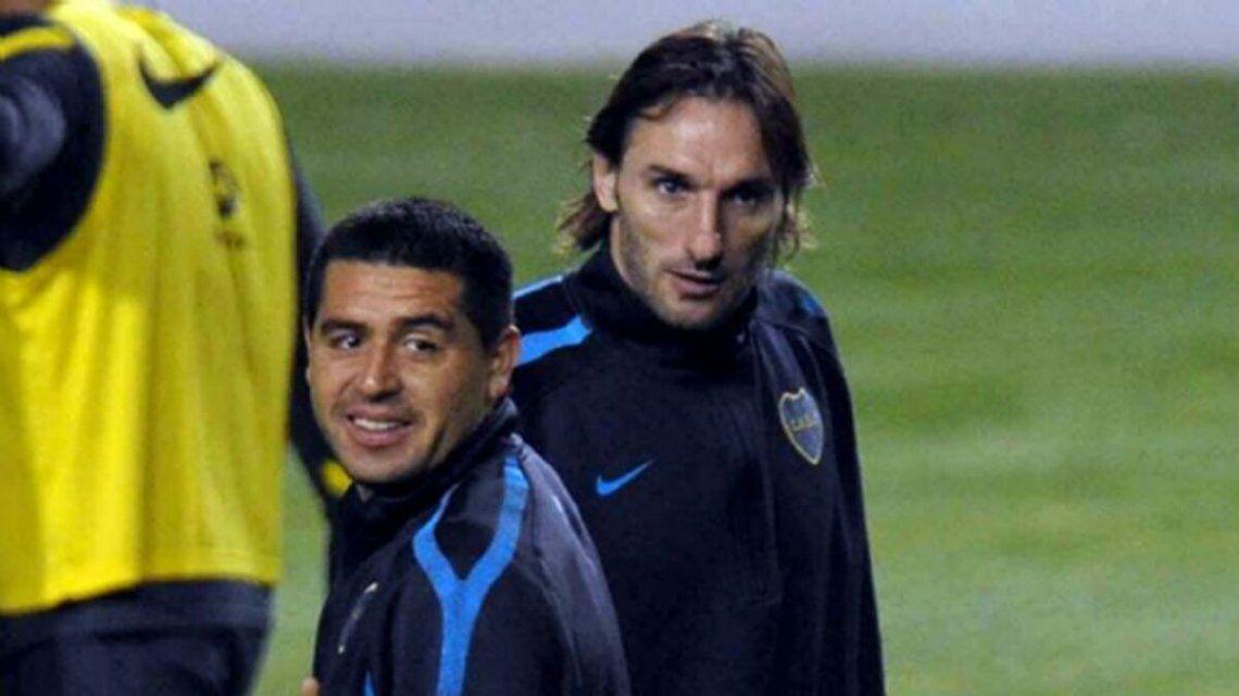 El Flaco Schiavi tuvo dos cliclos en Boca: 2001-05 y 2011-12.