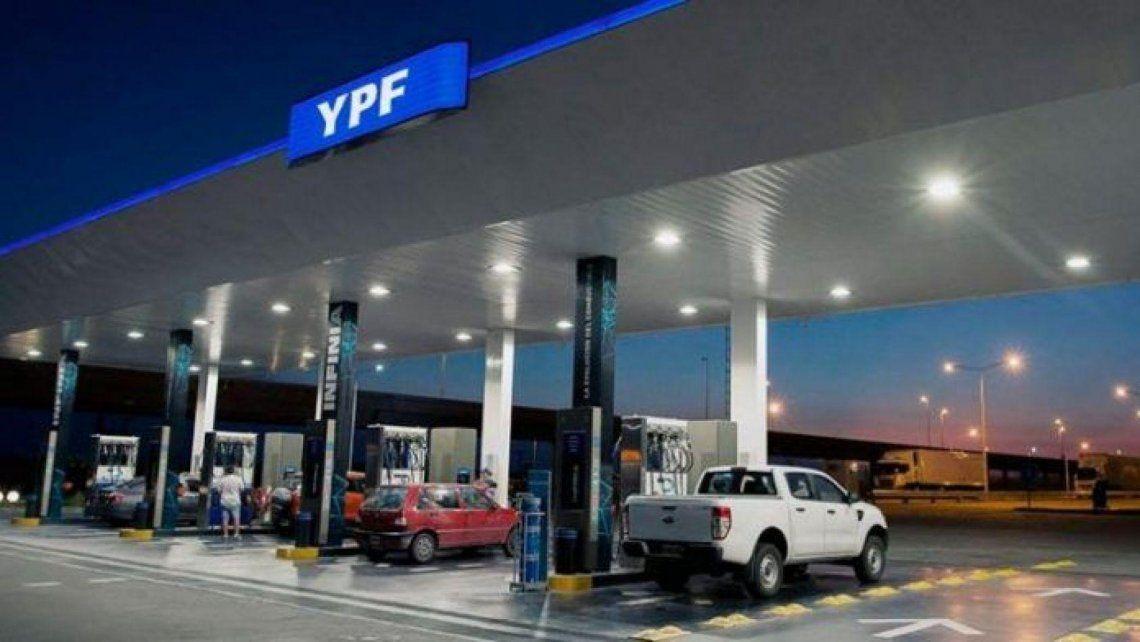 YPF aumenta los precios desde las primeras horas del sábado