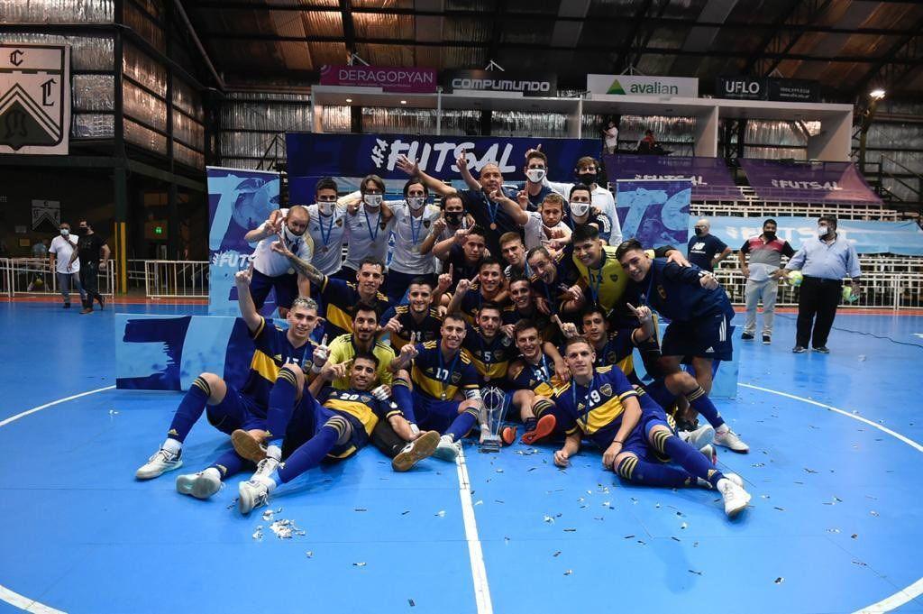 Boca es el campeón nacional de Futsal