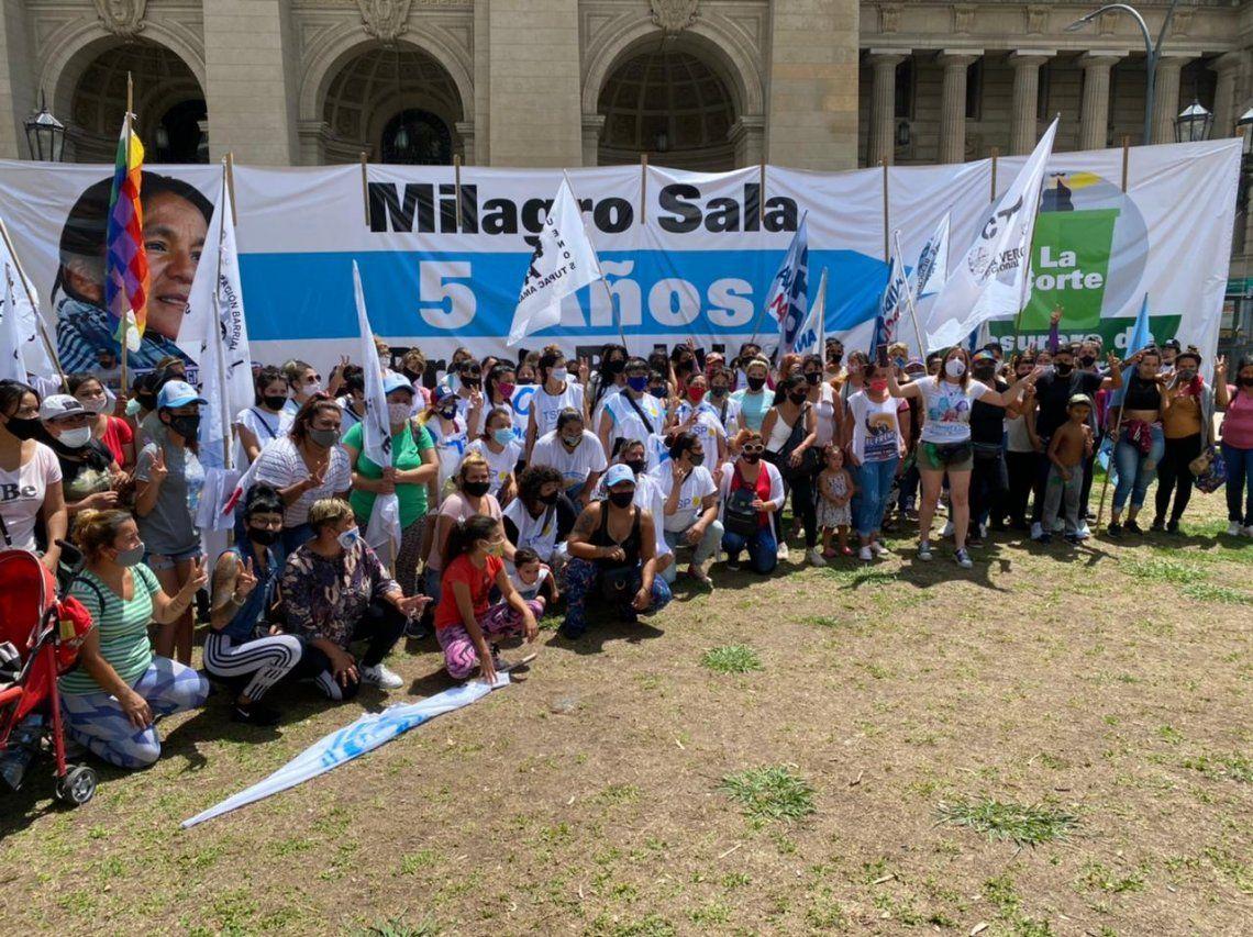 Milagro Sala: Marcha por su liberación