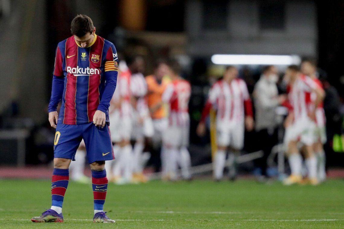 Mal comienzo del año para el Barcelona