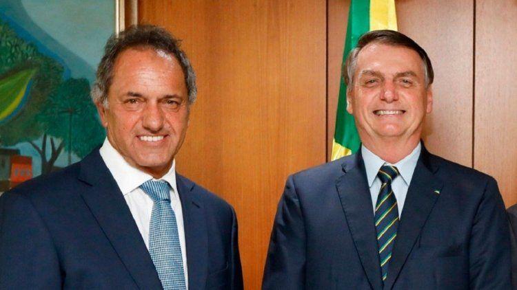 Daniel Scioli avanza en la reconstrucción de las relaciones con Brasil