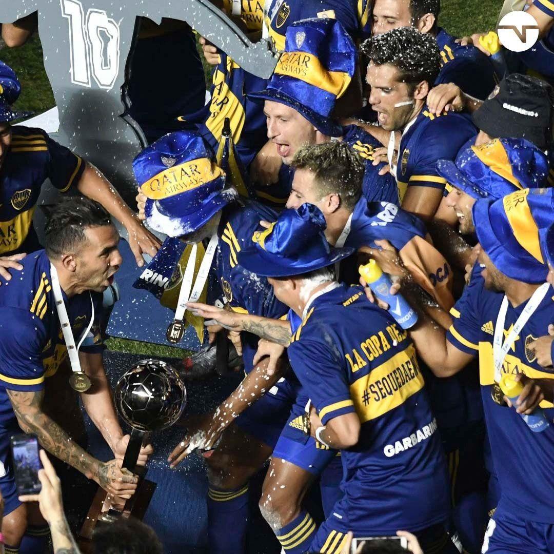 Boca: La celebración del plantel