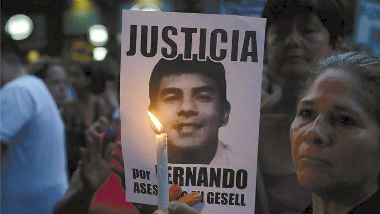 Mas de 420 mil personas pidieron justicia por el crimen de Fernando Báez Sosa