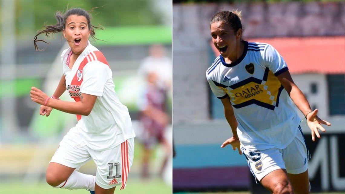 Boca y River definen el primer campeón de la era profesional