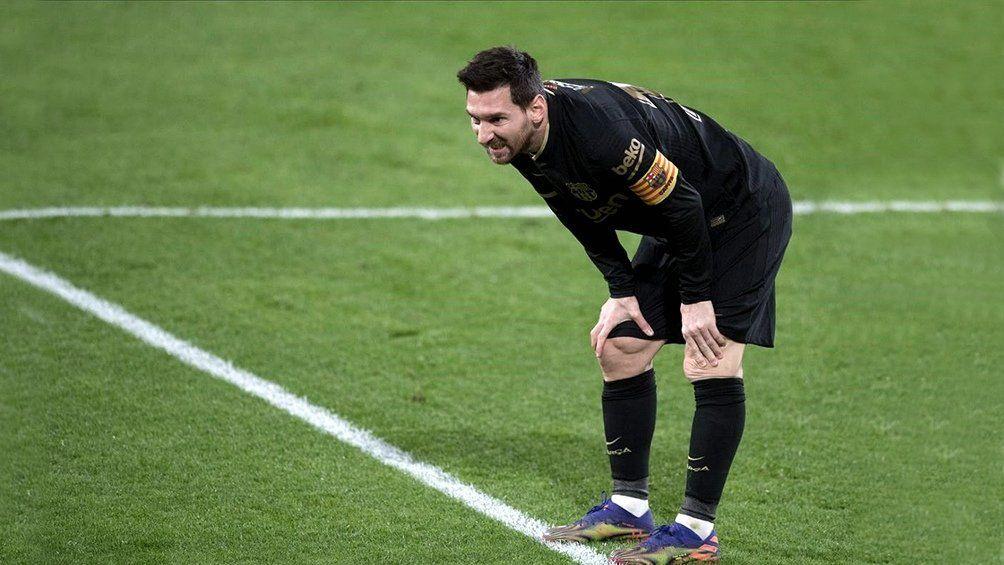 Lionel Messi recibió dos fechas de sanción y se perderá los partidos contra el Cornellá y el Elche.