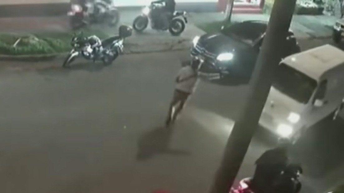 Colombia: robo de un auto.