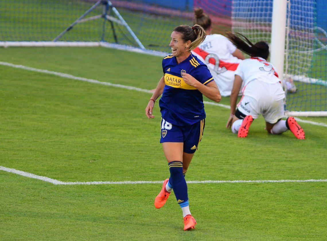 Boca festejó siete veces frente a River y es campeón de fútbol femenino