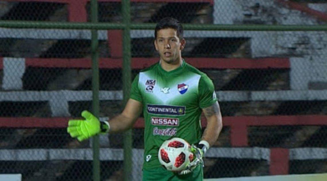 El arquero paraguayo juan Espínola llega a Godoy Cruz