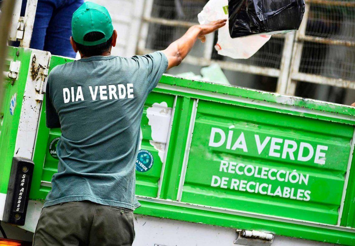 Vecinos de Vicente López reciclaron un 20% más durante la pandemia