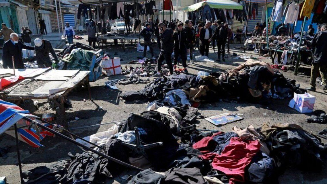Decenas de muertyos en un atentado suicida en Irak