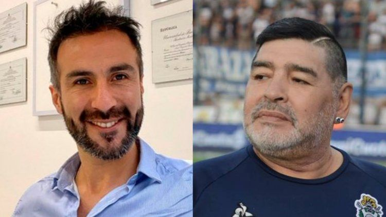 Pericia confirmó que falsificaron la firma de Maradona. Leopoldo Luque comprometido