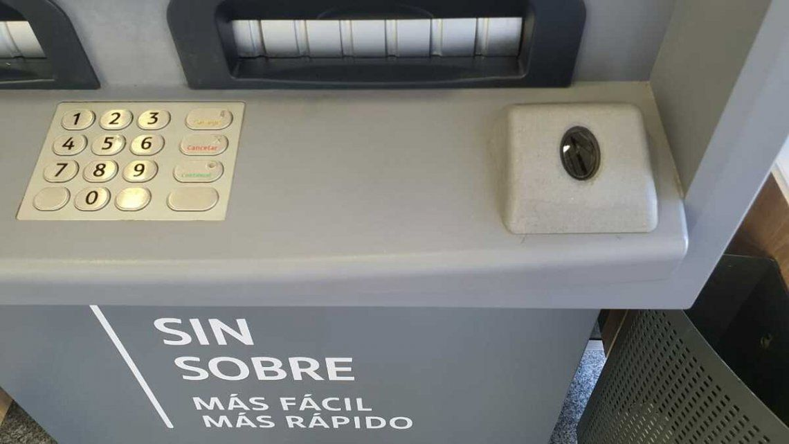 Cajeros automáticos podrán operarse con la huella digital