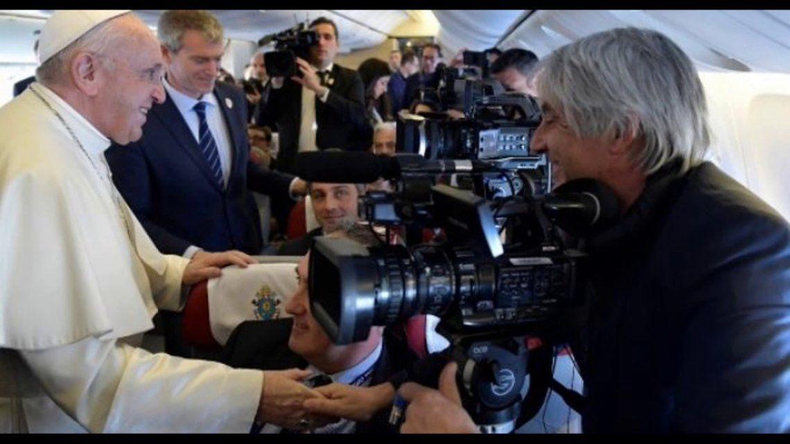 El Papa Francisco pide valentía a los periodistas