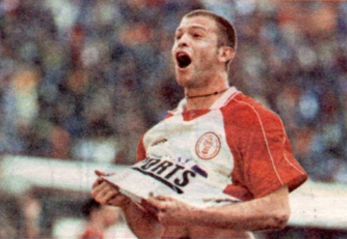 Sebastián Morquio logró el ascenso con Huracán en la temporada 1999-2000
