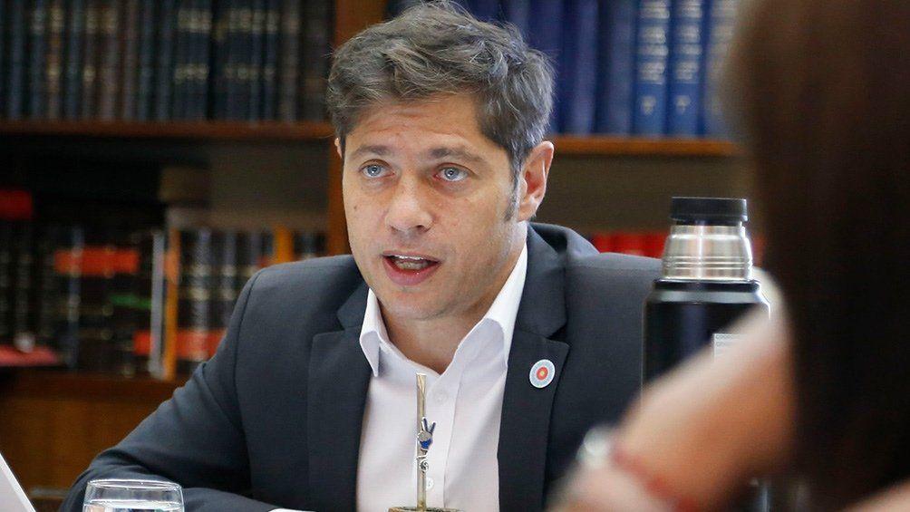 Axel Kicillof ratificó su plan de regresar a clases presenciales en marzo.