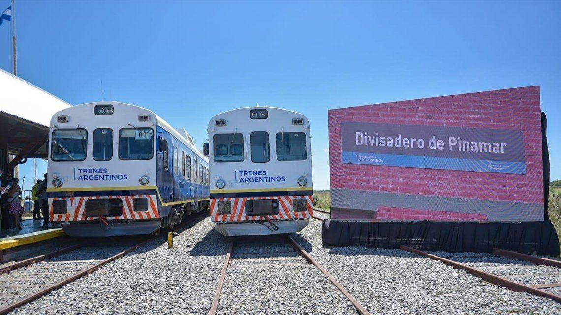 Trenes Argentinos reanuda desde este lunes el servicio que une diariamente la estación Plaza Constitución con la de Divisadero