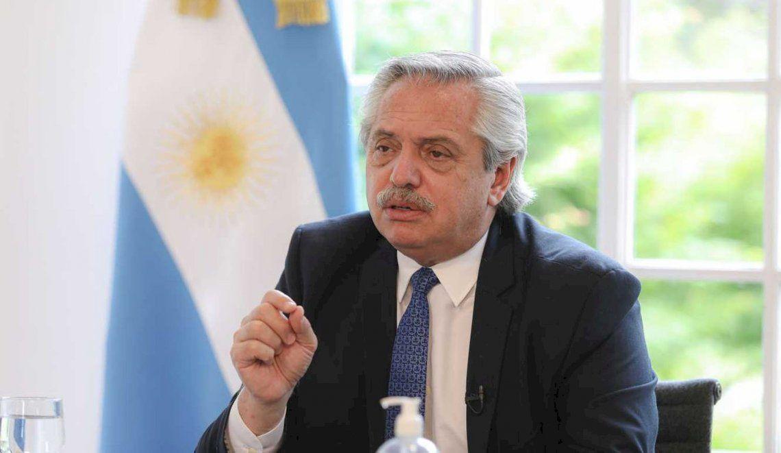 Alberto Fernández en la Cumbre de Adaptación Climática (CAS) 2021